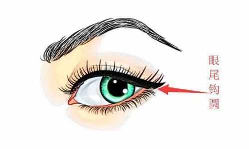 眼尾勾圆的人不可交,眼尾勾圆的人的面相性格特点